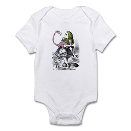 Alice in Wonderland Baby One Piece
