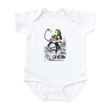Alice in Wonderland Baby One Piece