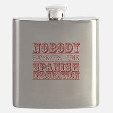 Cute Comedy Flask