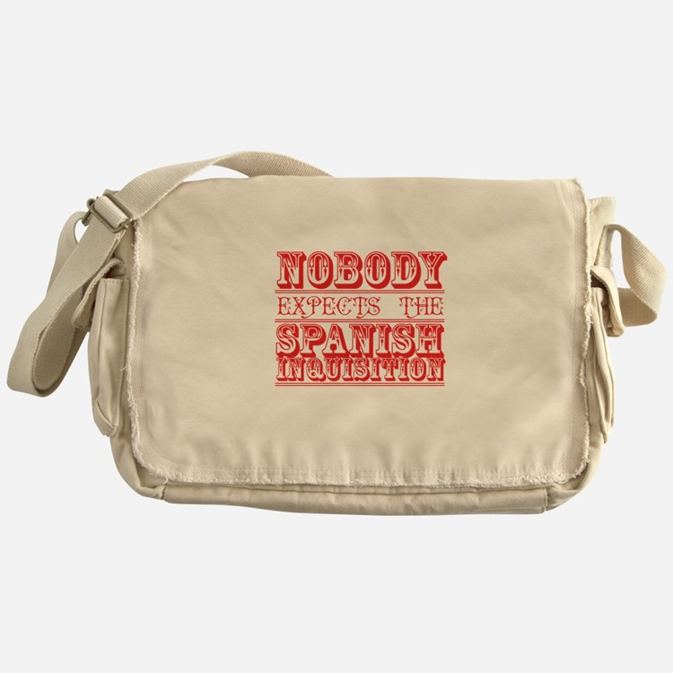 Cute Monty python Messenger Bag