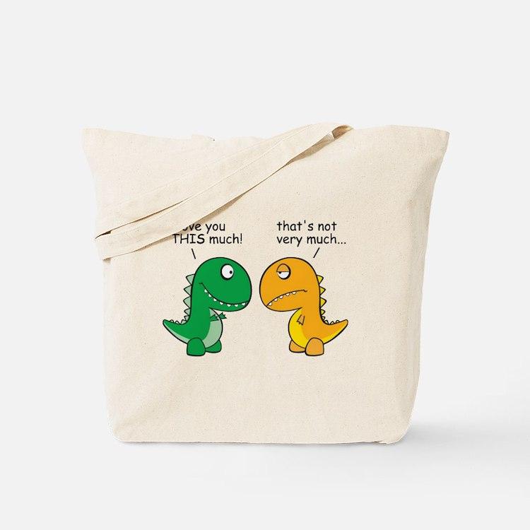 Cute Trex Tote Bag
