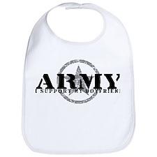 Army - I Support My Boyfriend Bib