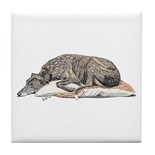 Unique Greyhound Tile Coaster