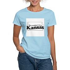 Not everything is flat in Kansas T-Shirt