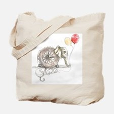 Cute Tote elephant Tote Bag