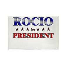 ROCIO for president Rectangle Magnet