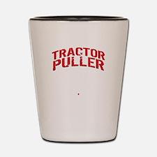 Unique Tractor pulling Shot Glass