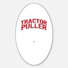 Cute Tractor pulling Decal