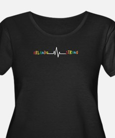 Orlando Strong Tshirt with Pulse Plus Size T-Shirt