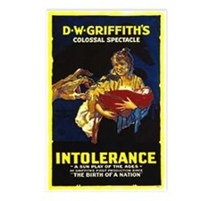 Intolerance Postcards (Package of 8)