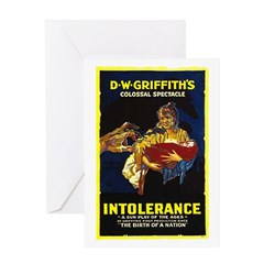 Intolerance Greeting Card