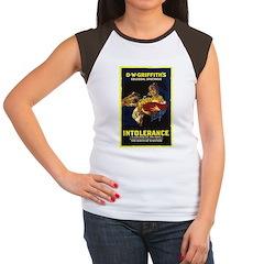 Intolerance Women's Cap Sleeve T-Shirt
