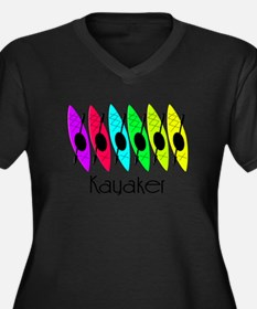 kayaker joanne.PNG Plus Size T-Shirt