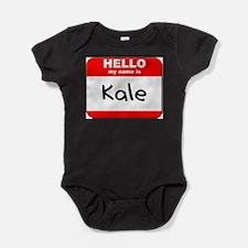 Funny Kale Baby Bodysuit