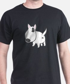 bullterrier illu backside T-Shirt