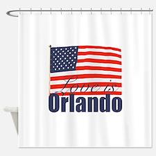 Love is Orlando Shower Curtain