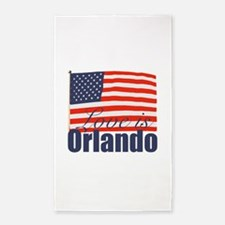 Love is Orlando Area Rug