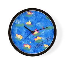 Hailie's Pond Wall Clock