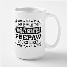 World's Greatest PeePaw Mugs