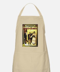 Hearts & Planets  BBQ Apron