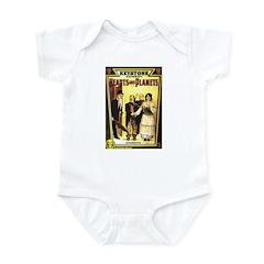 Hearts & Planets Infant Bodysuit