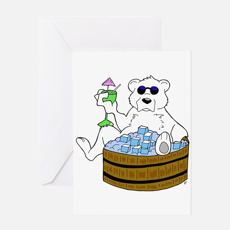 Relax Chill Out Greeting Card