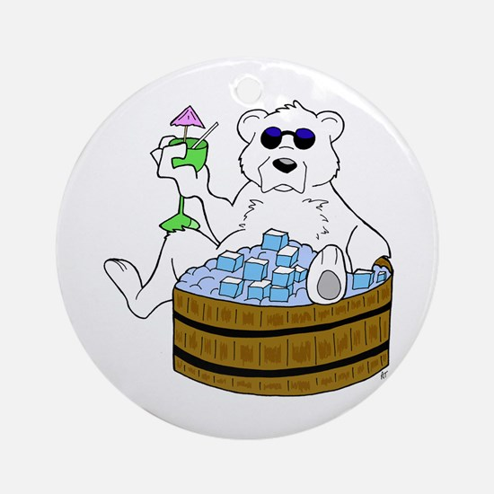 Relax Chill Out  Ornament (Round)
