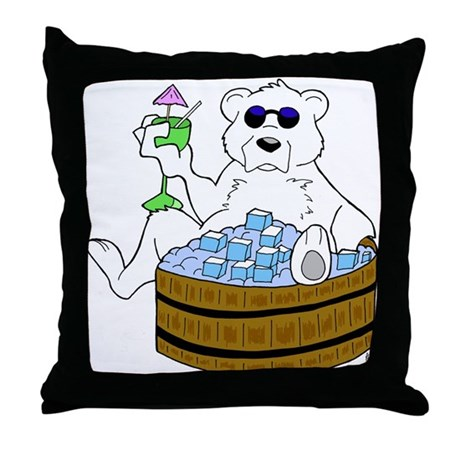 Relax Chill Out Throw Pillow