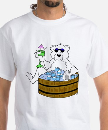 Relax Chill Out White T-Shirt