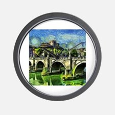 Cute Palace popes Wall Clock