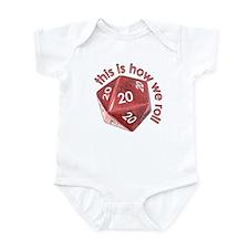 How We Roll (20's) Infant Bodysuit