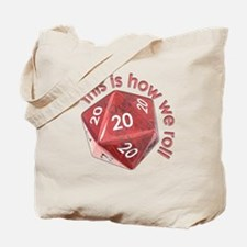 How We Roll (20's) Tote Bag