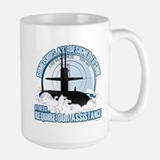 USS Seahorse - SSN 669 Mug