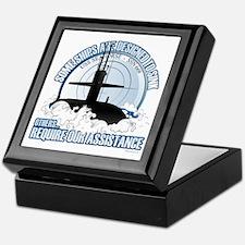 USS Seahorse - SSN 669 Keepsake Box