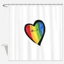 Funny Compassion Shower Curtain