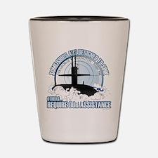 USS George Washington SSBN 598 Shot Glass