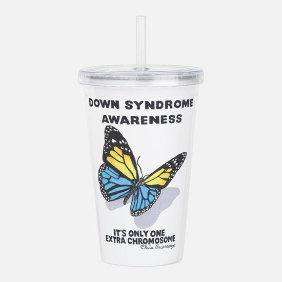 DOWN SYNDROME Acrylic Double-wall Tumbler