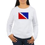 Major League Writing Women's Long Sleeve T-Shirt