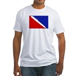 Major League Writing Fitted T-Shirt