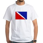Major League Writing White T-Shirt