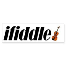 Fiddle! Violin! Celtic! Bluegrass! Bumper Stickers