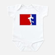 Major League Womens Ice Skati Infant Bodysuit