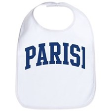PARISI design (blue) Bib