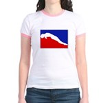 Major League Womens Diving Jr. Ringer T-Shirt
