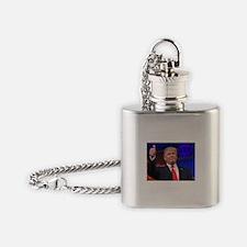 Trump U.S.A. Flask Necklace
