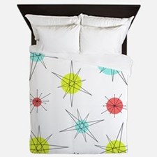 Atomic Era Art Queen Duvet