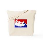 Major League White Water Raft Tote Bag