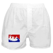 Major League White Water Raft Boxer Shorts