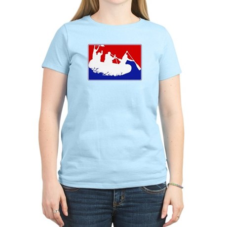 Major League White Water Raft Women's Light T-Shir