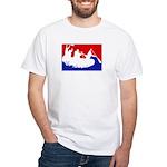Major League White Water Raft White T-Shirt